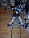 My 35mm adapter and homebuilt dolly setup.